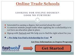 Trade Schools Online Online Trade Schools