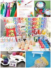 terrific paint party decorations 45 paint themed party cakes alcohol inks on yupo large size
