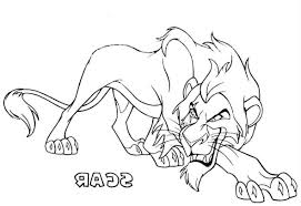 Lion King Scar Coloring Pages 1182 X 810 7094 Kb