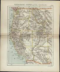 Ca Dutch U Old s Ut Nv Id Small Scarce Collectibles com 1882 Or Wa Entertainment Az Mt Western Color Wy Map Amazon