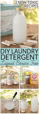 diy laundry detergent liquid 2 non toxic borax free recipes