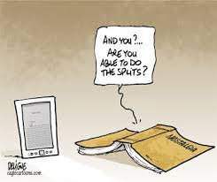 today we re talking tablets versus textbooks in the first of a series of posts inspired by cartoons does anyone have a good memory of their education