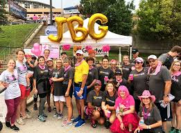 the susan g komen race for the cure is a nationally held fundraising event for t cancer research we ran for those who have been impacted by a t