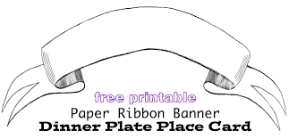 Ribbon Banner Template Black And White Ribbon Banner Template Clipart