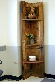 door corner shelf old