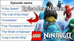 Lego Ninjago Staffel 15 - Episoden Namen & Beschreibungen 🌊 | Episoden 1-3  | Lego Ninjago Deutsch - YouTube