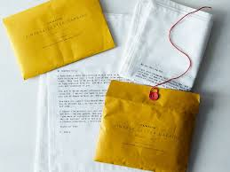 Love Letter Napkins (Set Of 4) On Food52