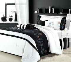 black and white bed in a bag save black white luxury bedding set small black and black and white bed