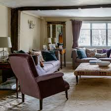 country living room furniture. Country Living Room With Purple Velvet Armchair Furniture R