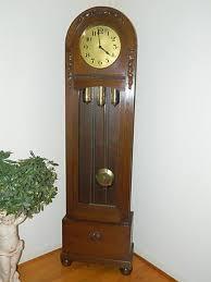antique dufa longcase grandfather clock