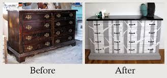 grey painted furnitureFurniture Makeovers The Amazing Power of Paint