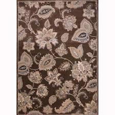 tiara brown 2 ft x 8 ft indoor runner rug