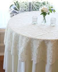 lace overlay table cloth great ivory lace tablecloth inches round lace table overlays in ivory lace lace overlay table