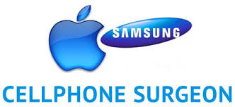 samsung phone logo. cellphone surgeon samsung phone logo w
