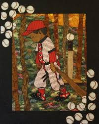 17 best Sports Themed Quilts images on Pinterest | Ad design ... & Lola Jenkins Pattern - Baseball Boy - awesome quilt! Adamdwight.com