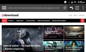 Blogger Templates 2020 Video Blogger Template 2020 Free Download Seo Friendly