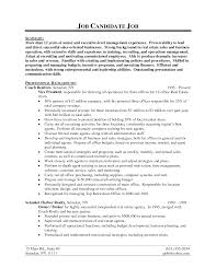 How To Write A Real Estate Resume Amazing Real Estate Resume