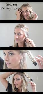 easy beachy waves tutorials for hair beachy waves diy and easy step by step