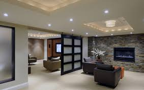 basement lighting ideas unfinished ceiling. Image Of: Modern Cool Basement Ideas Lighting Unfinished Ceiling U