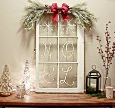 Window Decoration Rustic Christmas Decorating Ideas Rustic Christmas Vintage