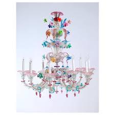 ca rezzonico chandelier in murano glass by galliano ferro