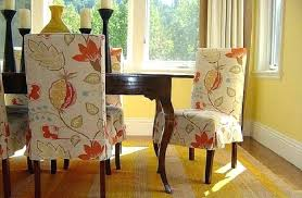 fetching dining room chair slipcovers pattern and diy dining room chair covers how to make dining