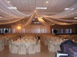 bridal shower decorating ideas for tulle wedding table decoration