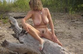 Russian woman smoking mature mature