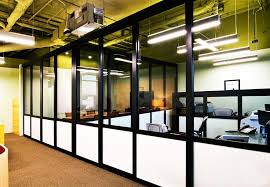office partition walls glass office