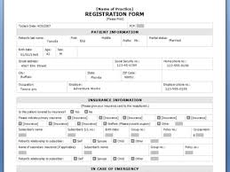 printable registration form template 8 template registration form generic registration form template
