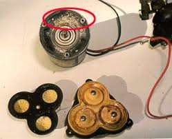 boats yachts repairing diaphragm pumps the main components notice also that this motor got wet but not enough to damage it