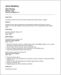 Claims Adjuster Resume New Claims Adjuster Resume Insurance Claims Adjuster Resume Sample
