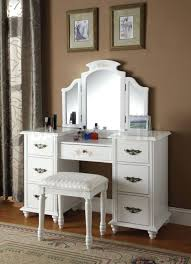 Dressers Makeup Vanity Table With Lighted Mirror Uk Makeup
