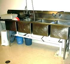 commercial kitchen sink. Commercial Sink Faucet With Sprayer Industrial Kitchen . N