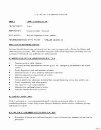 Dispatcher Resume Samples Ideas Of 911 Dispatcher Resume About Dispatcher Resume