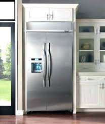 built in refrigerator cabinet. Built In Refrigerator Cabinet Cabinets For Decor 7 A