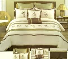 Palm tree bedding sets forters