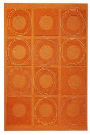 elegant orange circa area rug rust rust colored area rugs decor