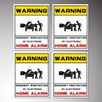 Alarmanlage Sicherheit Video Alarm gesichert überwacht Dummy
