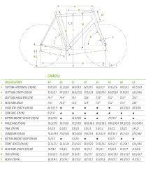 Cannondale Caad12 Size Chart Caad12 Geometry Chart Geometrie