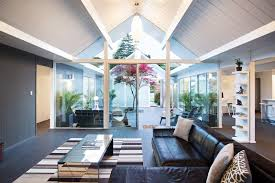 living room with mirrored furniture. Chic Living Room With Mirrored Furniture