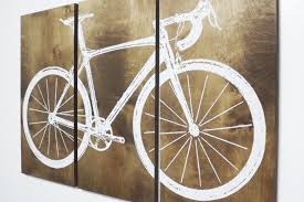 >clever design bike wall art home decor ideas xxl 4 x 6 road street  clever design bike wall art home decor ideas xxl 4 x 6 road street zoom metal stickers frame wheel gear on wood