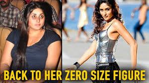 Kareena Kapoor Diet Chart For Size Zero Kareena Kapoor Khan Reply On Back To Her Zero Size Figure
