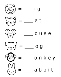 Preschool English Worksheets Free Printable Beginning Sounds Letter ...