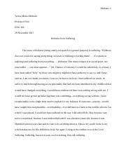 eng first year composition ii arizona state university  12 pages causal essay holiness docx