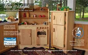 Wooden furniture for kitchen Real Wood All Elves And Angels Kitchens Are Now Available In Your Choice Of Pine Or Hardwood To See Hardwood Pricing Simply Click The Drop Down Beside Any Kitchen Elves Angels Wooden Play Kitchens And More Elves And Angels Elves Angels