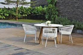 wicker patio dining chairs. BONO Dining Chairs And Table - Powder-Coated Aluminum (white), Wicker Patio
