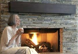 how to build a stone fireplace patio install veneer over interior brick