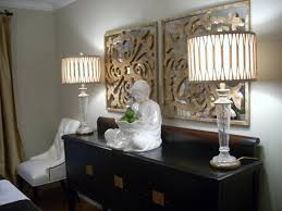 Dining Room Table Lamps Buffet Table Lamps To Elegant Dining Room The Home Ideas