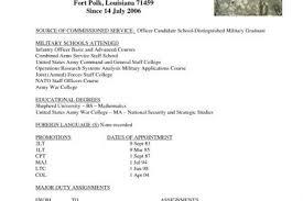 25 Fresh Infantryman Skills Resume Bizmancan Com